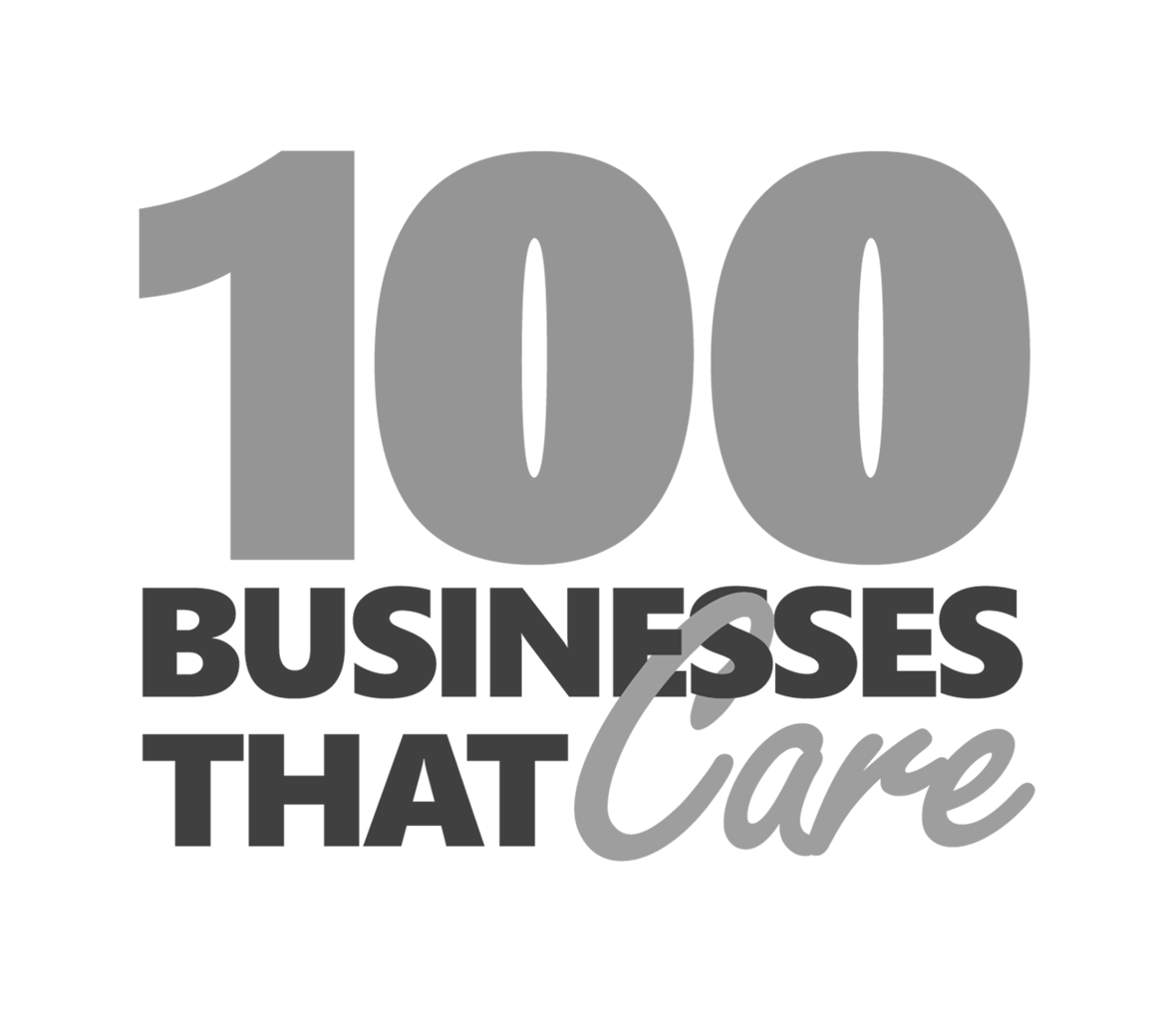 100 Businesses That Care Logo